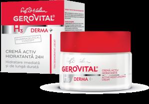 GerovitalH3DermaCremaactivhidratanta24hcutie